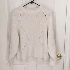 H & M chunky oversized cut out sweater